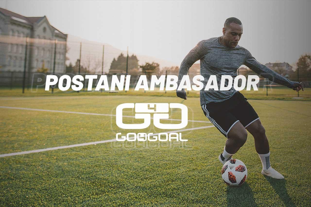Postani ambasador slovenske blagovne znamke GO4GOAL