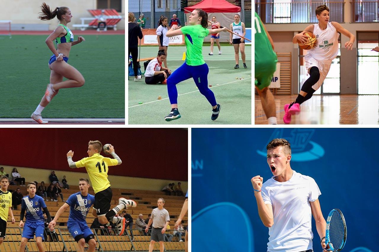 5 kandidatov. 4 športi. En skupen cilj – biti najboljši